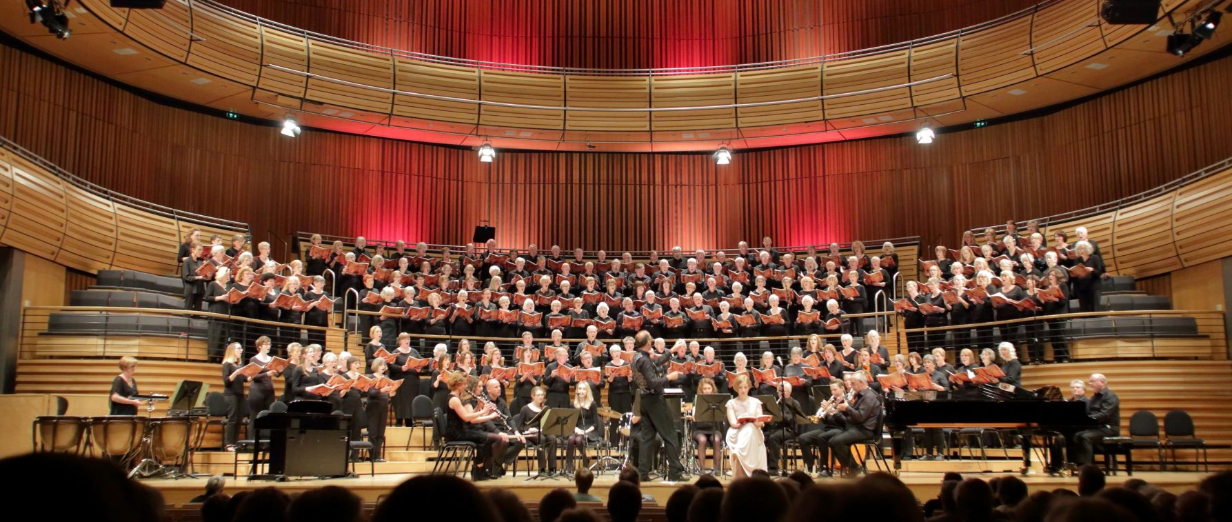 The Choir perform as part of a celebration at Sage Gateshead