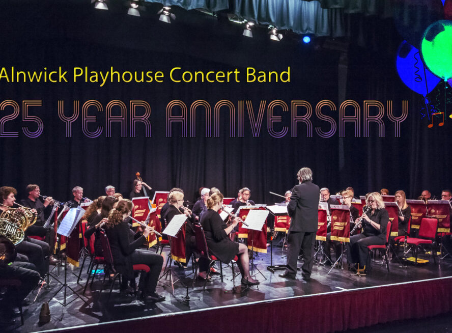 PLAYHOUSE CONCERT BAND – 25 YEAR ANNIVERSARY