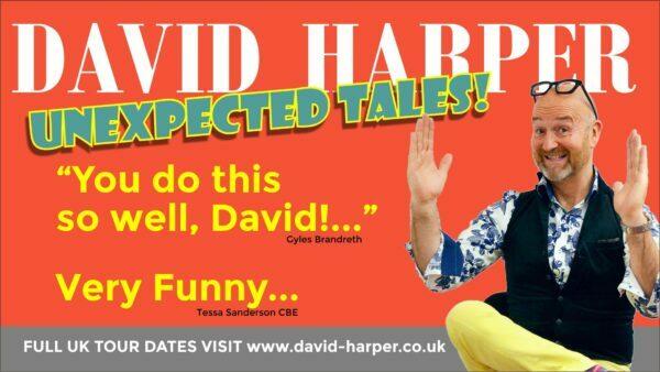 DAVID HARPER – UNEXPECTED TALES!