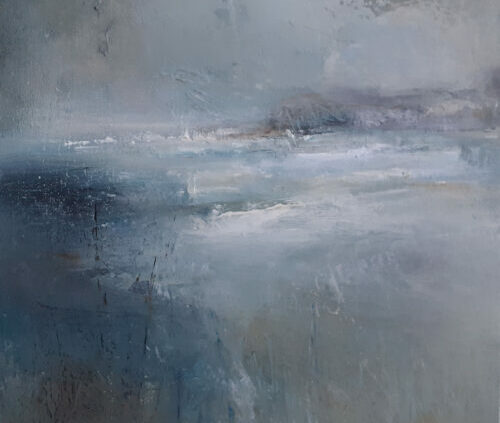 Rushing Tide at Dunstanburgh - SOLD